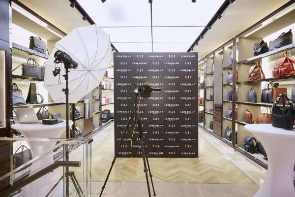 Eventfotografie Nürnberg - Fotowand bei Longchamp