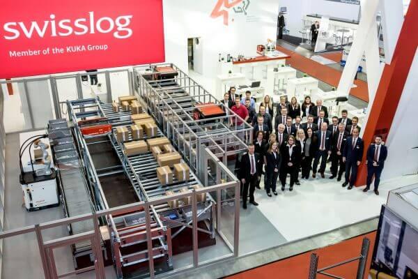 Swisslog auf der LogiMAT Messe in Stuttgart © offenblen.de